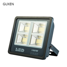 GUXEN 200W/100W 110V 220V SMD chip floodlight Aluminum Led flood light waterproof IP65 IP66 for square CE RoHS