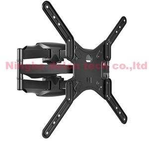 "Image 3 - NB P5 32"" 52""42""50"" 6 arm VESA400X400 200X200 retractable full motion  LCD TV mount wall movable arm bracket  tv lift mechanism"