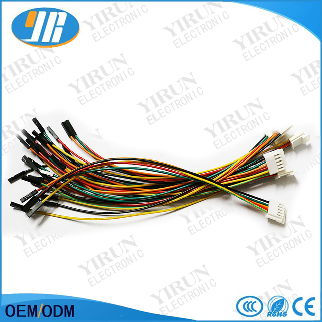 10 pcs/lot arcade joystick wire harness 5 pin cable arcade controller  keyboard to joystick