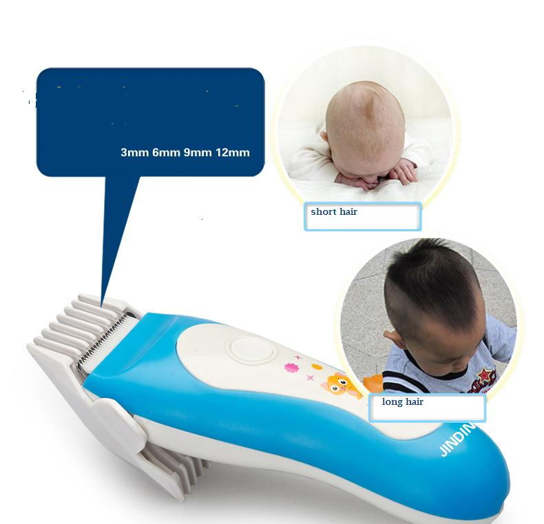 New Electric Man Baby Hair Clipper children Trimmer ceramic head Rechargeable Shaver Razor washable low noise baby hair clipper sportsman 2017 top selling professional electric hair clipper trimmer knife head washable good quality men and children