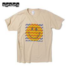 3D youth funny t shirts men PSY trance t shirt psychedelic t shirts men Emoji smile face t-shirt clothing brand labels elseisle