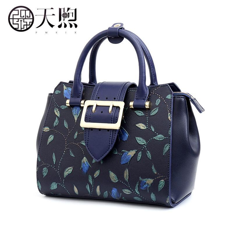 Split Leather women bag   Design of original art designer  Fashion embossed shoulder Messenger bag handbag Ms. evening bags art of war