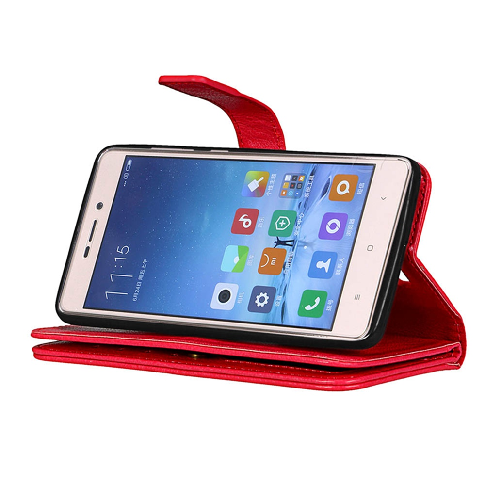 Geniune Leather Holster Card Slot Wallet Phone Bag Bags Full Body Protection Case Cases Shell For Xiaomi Redmi 3 3S S