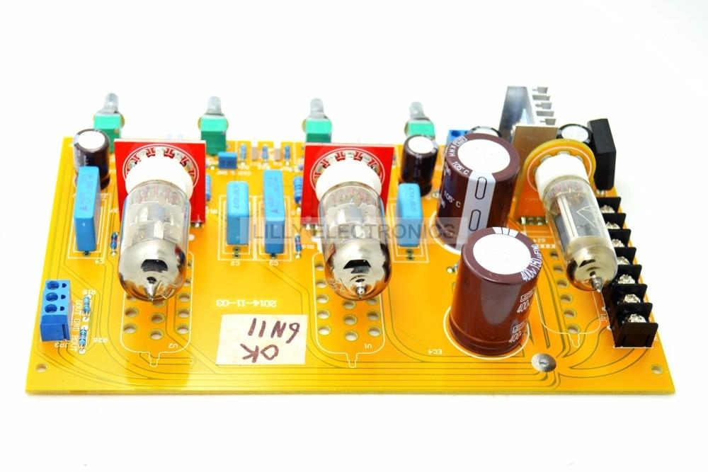6n11-J(6DJ8/ECC88/6922) gall bladder tone board preamp tubes tube ecc189 hifi diy ecc88 e88cc 6922 6dj8 6n11