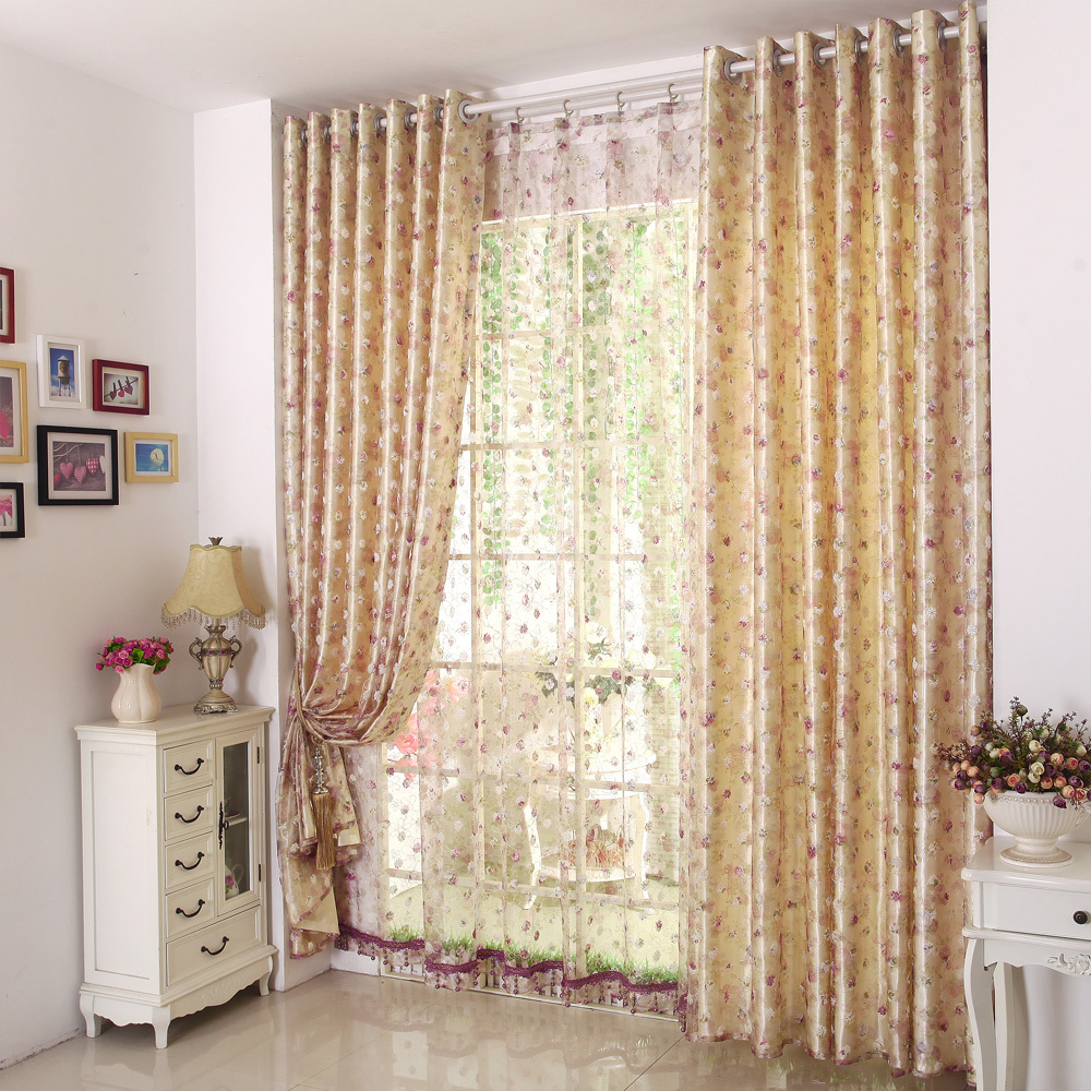 Aliexpress.com : Buy Embroidered Curtains Luxury Curtains For ...
