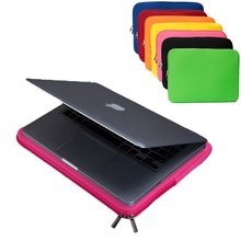 "New 7 Color Portable 14"" Laptop Soft Case Bag Cover Sleeve Pouch For Apple iPad Pro /Macbook Pro/Air For Samsung Laptop 14inch(China)"