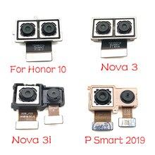 1 قطعة لهواوي نوفا 3 3i/الشرف 10 / P الذكية 2019 الخلفية الكبيرة عودة كاميرا فليكس كابل الرئيسية كاميرا وحدة استبدال أجزاء