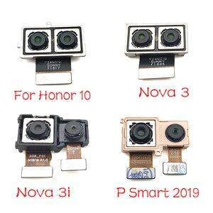 Image 1 - 1Pcs For Huawei Nova 3 3i / Honor 10 / P Smart 2019 Rear Big Back Camera Flex Cable Main Camera Module Replacement Parts
