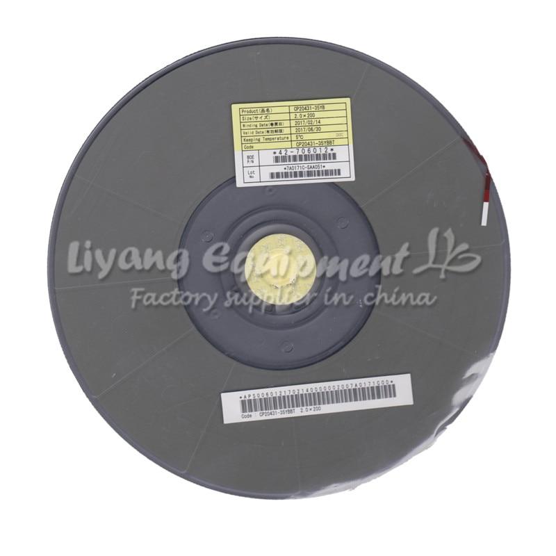 Original ACF AC-20431-35YB PCB Repair TAPE 2.0MM latest Date for pulse hot press flex cable machine use аккумулятор yoobao yb 6014 10400mah green