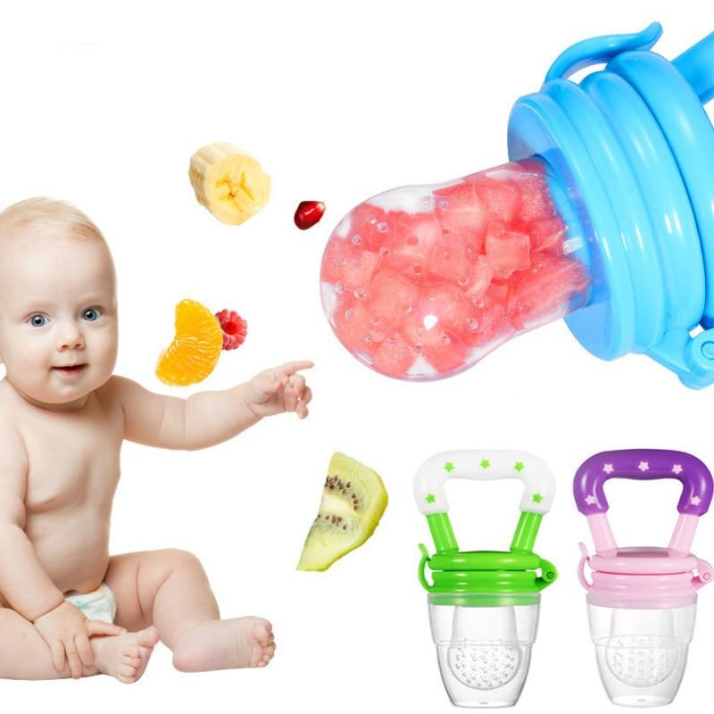 1PC Baby Teether Nipple Fruit Food Mordedor Silicona Bebe Silicone Teethers Safety Feeder Bite Food Teether BPA Free
