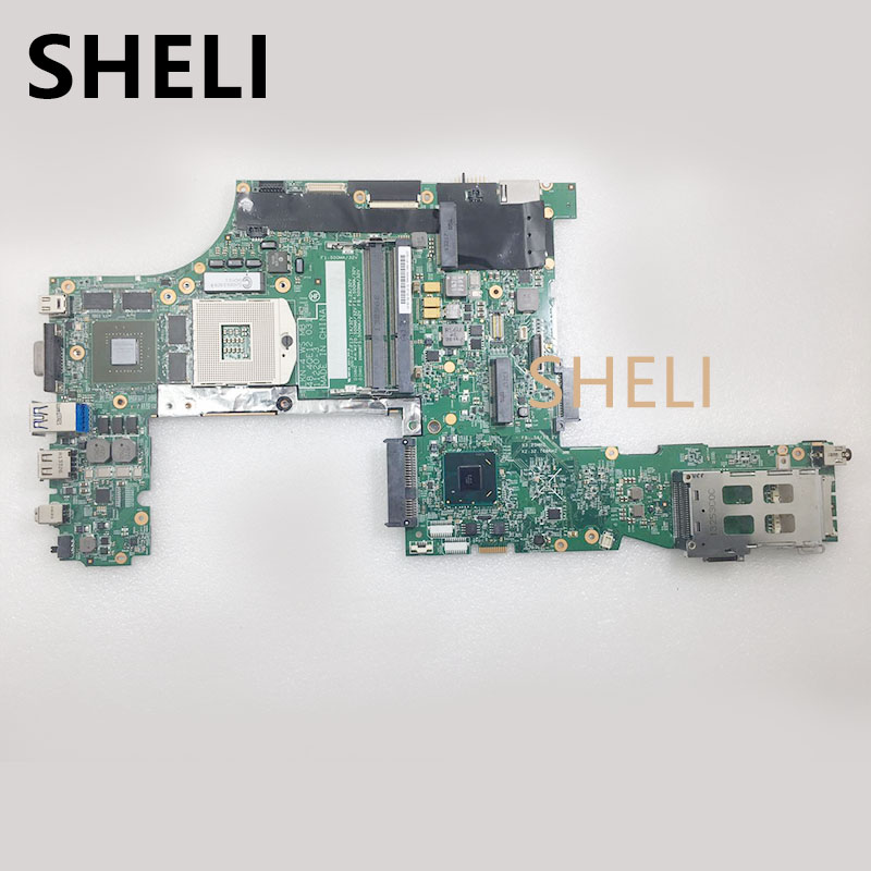SHELI FOR LENOVO  48.4QE12.031 appliesThinkpad W530 notebook motherboard FRU  04X1535 K2000M 2G DDR3 100% test work