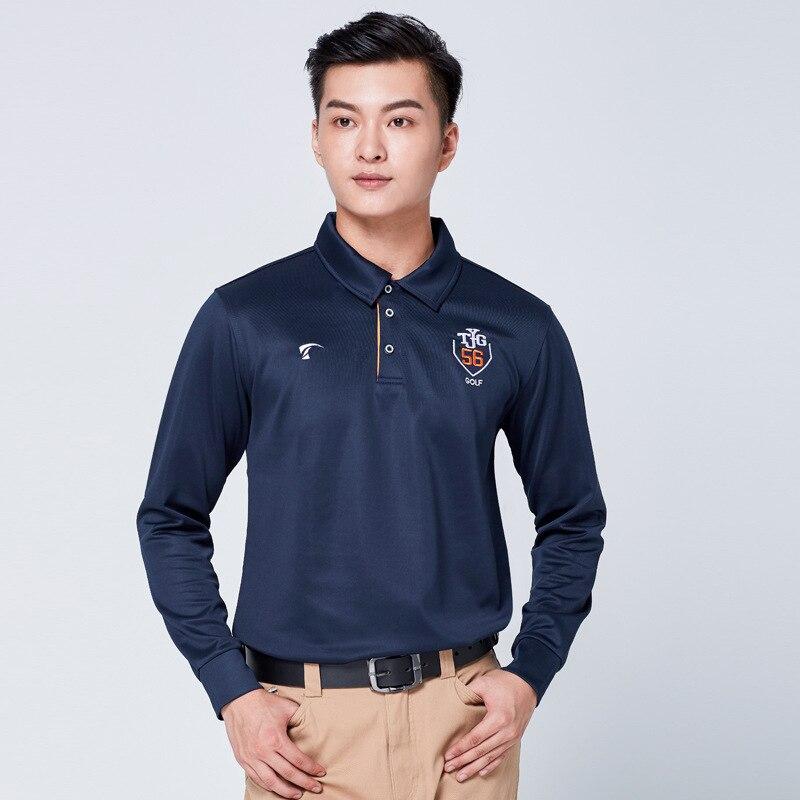 Homme Manches Longues Chemise Chemise de Golf Golf hauts Match De Golf Balle Costume Classique De Golf De Marque Vêtements D0664