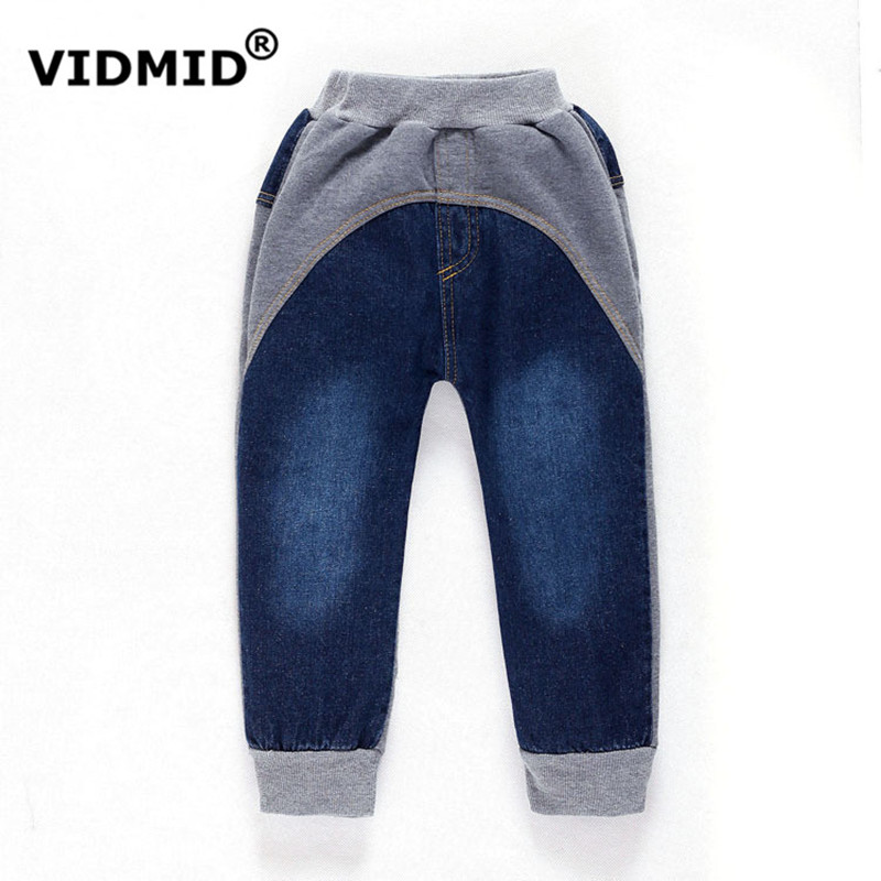 2 8Y Children Jeans Boys Denim trousers Baby Girl Jeans Top Quality Casual pants kids clothing ...