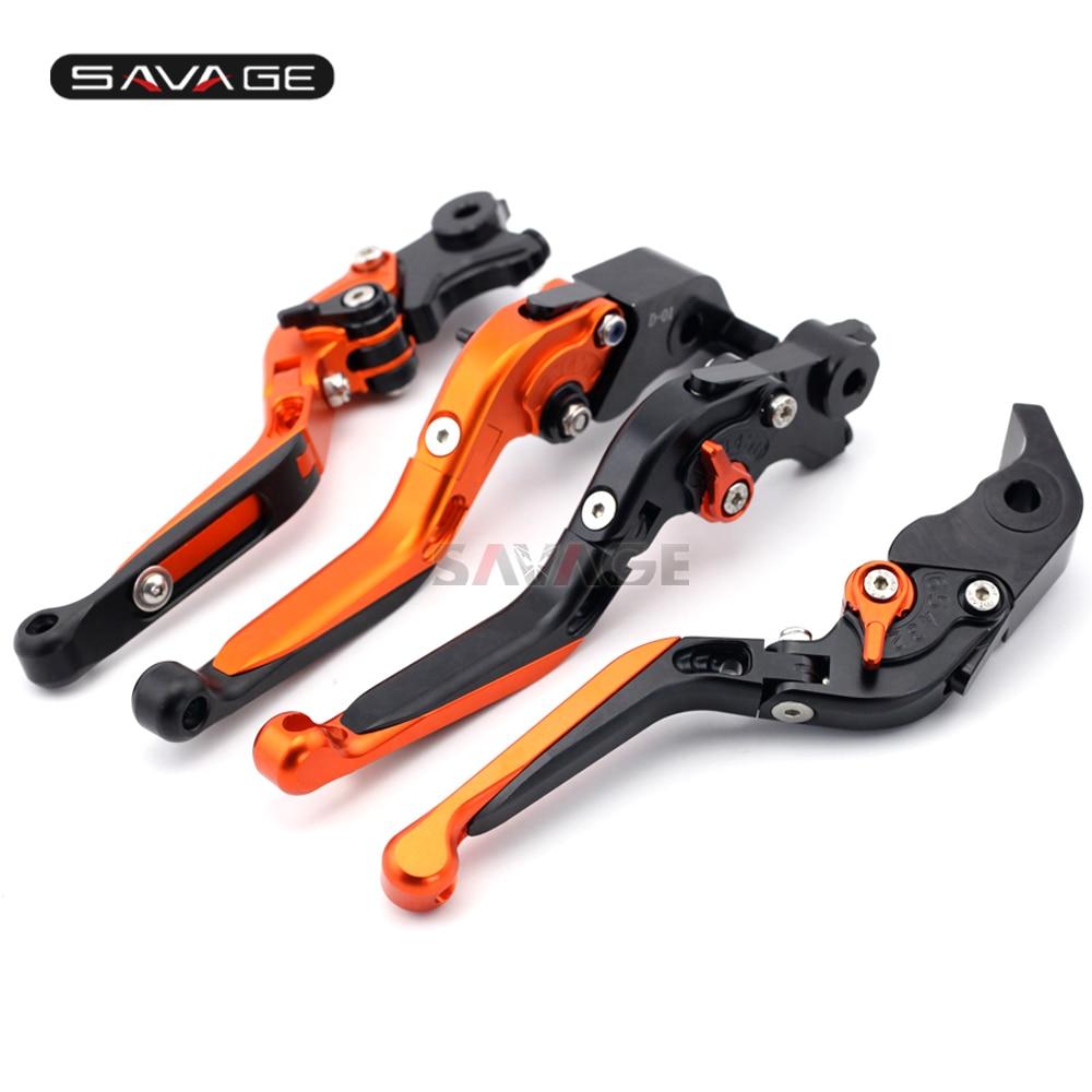 Folding Extendable Brake Clutch Lever Levers For KTM 1190 Adventure/R 1290 Super Adventure Adjustable High Quality Aluminum CNC