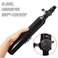 3000psi Paintball PCP Cylinder Tank 0.38L High Compressed Air Bottle with Regulator