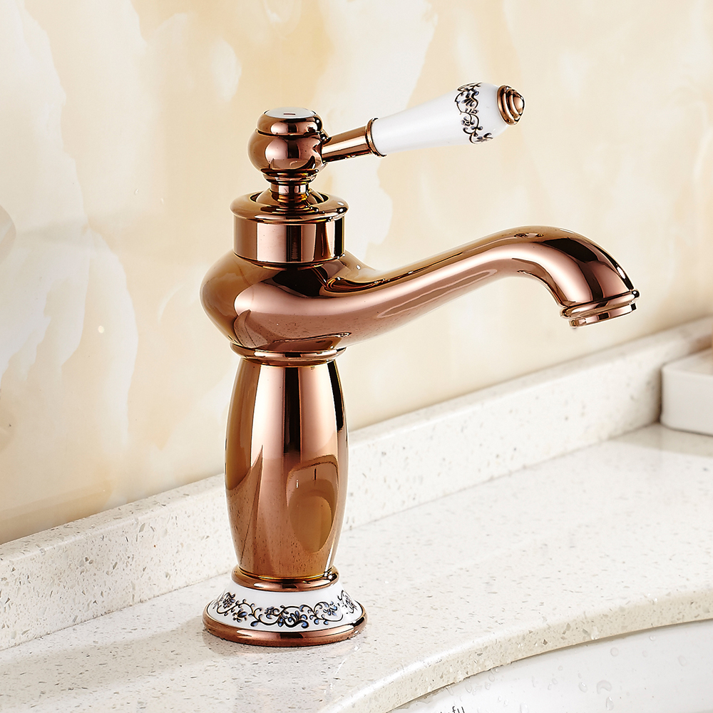 free shipping Antique Brass Traditional Victorian Vintage classical Retro Chic Bathroom Basin Sink Mixer Taps Waterfall Faucet-in Basin Faucets from ...