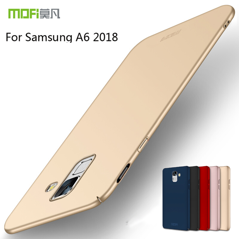 MOFI For Samsung Galaxy A6 2018 Case Fitted Cases PC Hard Case For Samsung Galaxy A6 2018 Cover Ultra thin For Samsung A6 2018