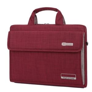 Image 2 - Унисекс, 6 цветов, большая емкость, нейлон, 13,3, 14, 15,6 дюйма, сумка для ноутбука, защитный чехол, компьютерные сумки