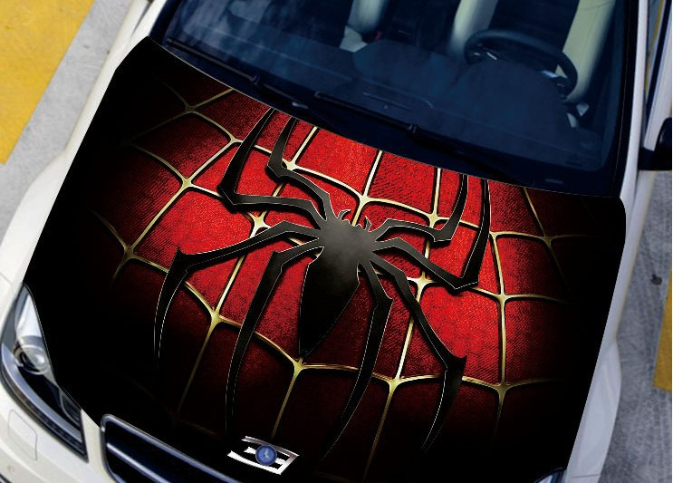 COOLFree Shipping PCSLOT Spider Man Series Car Hood Sticker - Cool decal stickers for cars