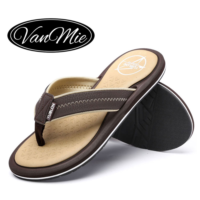 2018 Flat Beach Flip Flops Hombre Flip-Flops Hombre Slippers Casual Fash Summer Zapatos Fash Casual 977377