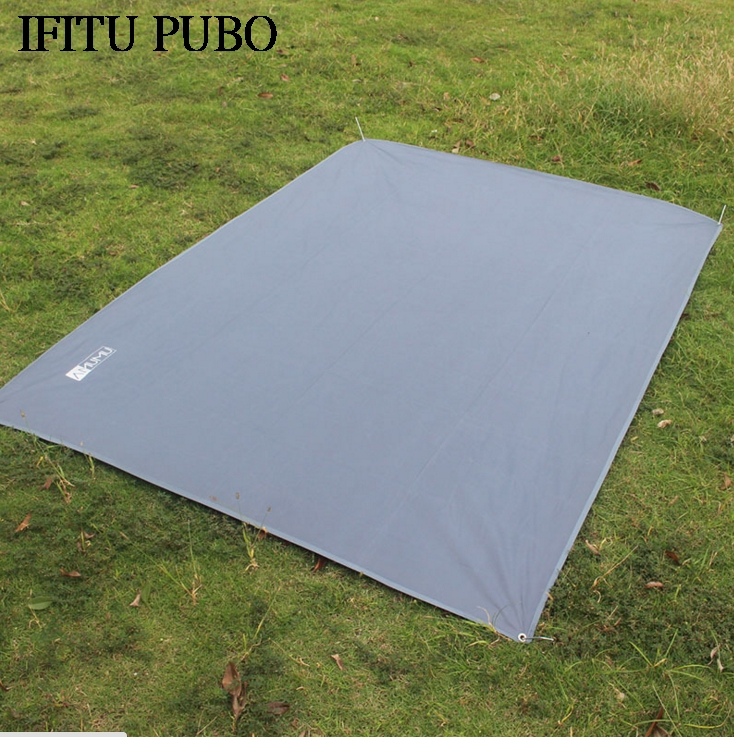 цена на Tent Floor Saver Reinforced Multi-Purpose Tarp tent footprint camping beach picnic mat Waterproof Tarpaulin Bay WYQ