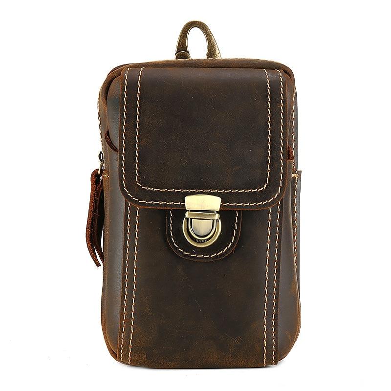 4-6 ''universel téléphones mobiles pochette fermetures à glissière portefeuille étui ceinture pince sac pour smartphone taille ceinture pochette étui téléphone portable sac - 2