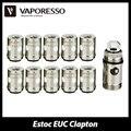 10 unids Vaporesso Tradicional Bobina de Clapton EUC w/Manga 0.4ohm 0.5ohm bobina para Estoc ECO Universal/Objetivo Profesional/ORC/Gemini Atomizador