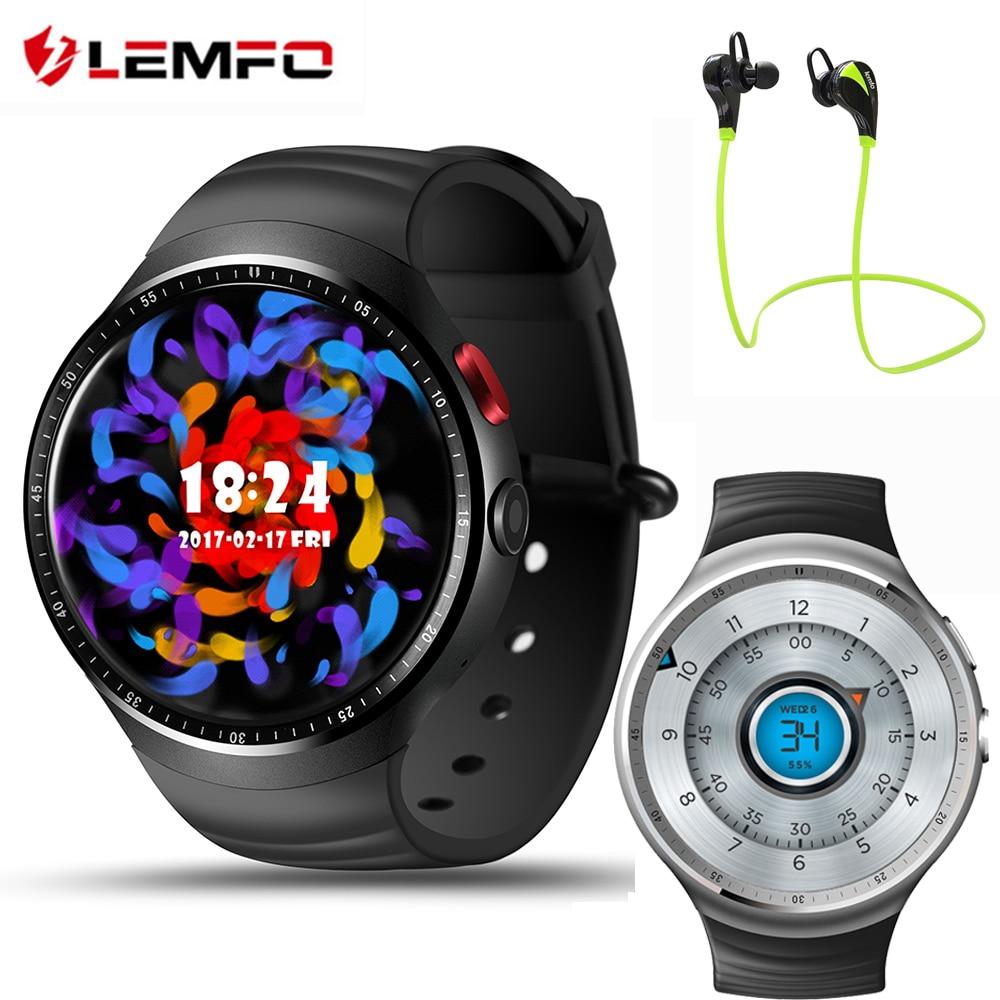 4da99829ece LEMFO LES1 3G Telefone Do Relógio Inteligente 1.39