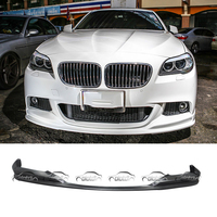 For BMW 5 Series F10 F11 M TECH M Sport Package 3D Styling Car Styling PU Material Front Lip Bumper Spoiler