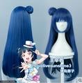 New Anime LoveLive!Sunshine!! Tsushima Yoshiko bule Cosplay Wigs 80cm