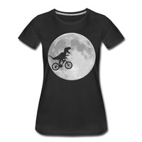 Gildan High Quality Casual Printing Tee Regular Dinosaur Biker In Moonlight Crew Neck Short Sleeve Tee