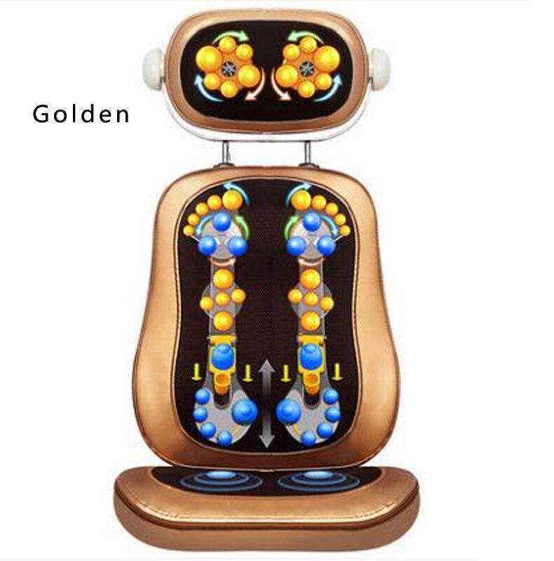 Waist and neck massage cushion multifunctional  body massage chair cushion  Enjoy healthy relieve fatigue / tb 110911