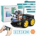 Emakefun робот ардуино 4WD автомобили приложение RC дистанционное управление Bluetooth робототехнический Обучающий Набор Обучающие игрушки для дете...