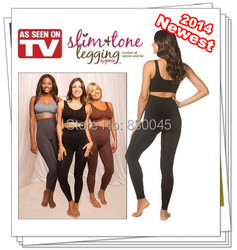 Newest TV hot  Slim&Tone Genie Women Legging/ Highwaist Seamless Slim Legging