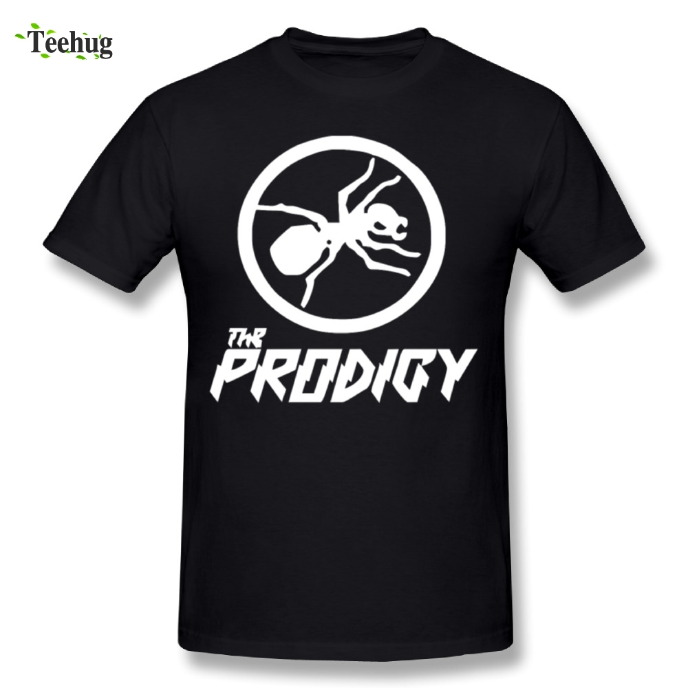 Pure Cotton Men The Prodigy Ant T Shirts Custom Cotton Short Sleeve Fashion Streetwear T-Shirt