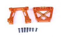 CNC Machined Alloy Bulkheads Rear Set for BAJA 5B 5T 5SC (orange color)