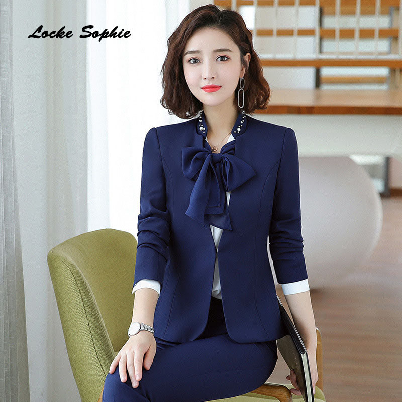 Women 39 s Plus size Blazers coats 2019 Autumn cotton blend Long sleeves V neck Small Suits jackets ladies Skinny Blazers Suits in Blazers from Women 39 s Clothing