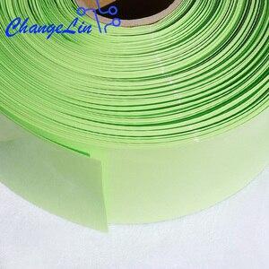 Image 3 - 1 미터 95 100 110 120 130 200 220 mm 과일 녹색 열 수축 튜브 열 수축 리튬 배터리 팩 와이어 케이블 슬리브 랩