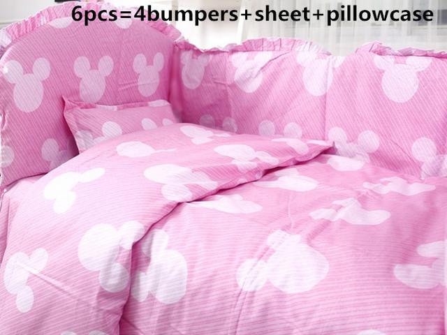 Promoção! 6/7 PCS Cavalo berço conjunto fundamento do bebê 100% algodão roupa de cama jogo de cama berço do bebê, Capa de Edredão, 120*60/120*70 cm