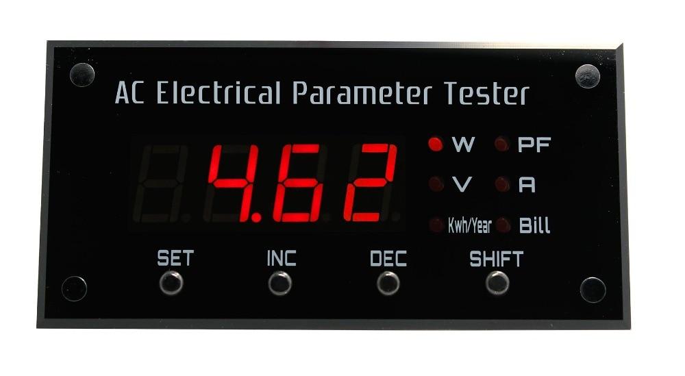 EPM1100 vatmetras / skaitmeninio skydo ampermetras / galios - Matavimo prietaisai - Nuotrauka 1