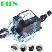 12 В AC светодиодные Мощность питания Напряжение трансформатор конвертер Водонепроницаемый IP67 Драйвер 120 В 220 В до 12 В 60 вт 120 Вт для подводный