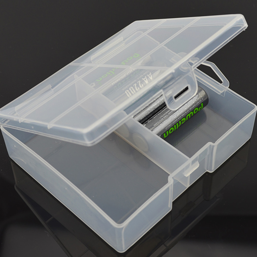 AA Battery Storage Box Case holder Plastic battery Container storage holder for Maximum 24 X AA Batteries Organizer Box Case dc5v portable mini aa battery holder storage box case usb power supply battery box for 5050 3528 2835 led strip light
