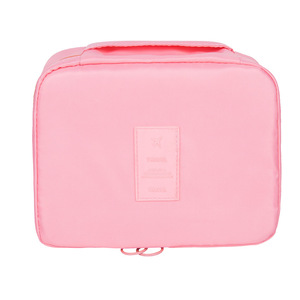 Image 5 - Twill Flower Mesh Cosmetics Package Travel Portable Square Cube Makeup Organizer Make Up Organizador Penteadeira Kutu Pendientes