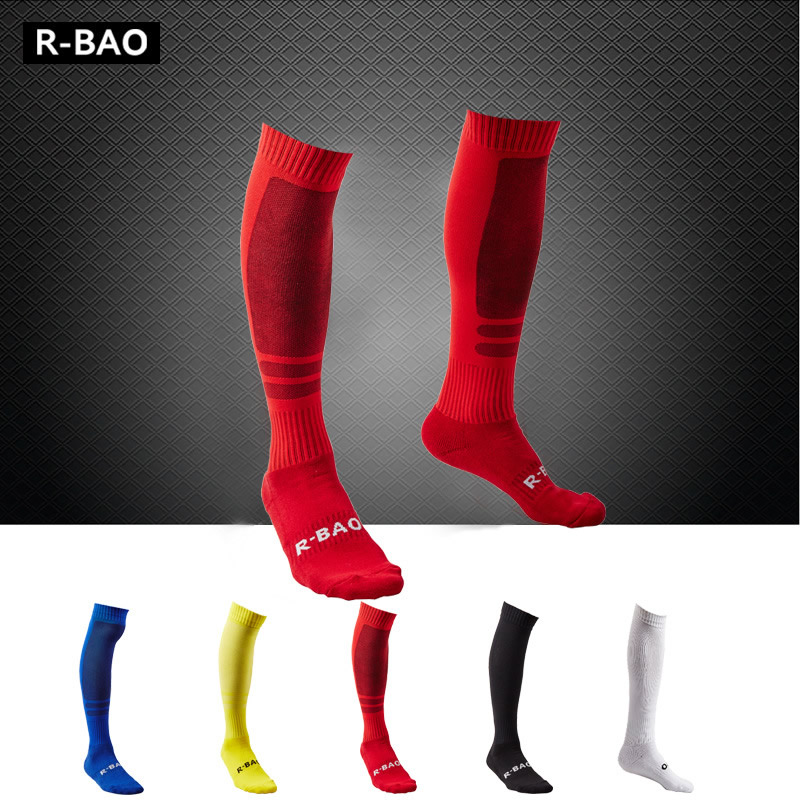 Soccer Socks Men Football Towel Long Socks Sports Stockings Absorb Moisture Breathable Training Socks
