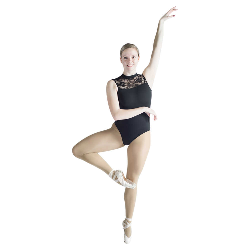 488cdfe905 Detail Feedback Questions about Ladies Cotton Lycra Gymnastics Leotard with  Lace Front and Open Back Girls Ballet Dancewear Practice Bodysuit on ...