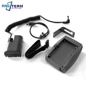 Image 2 - LP E6 Accoppiatore Batteria DR E6 + NP F970 F750 F550 Piastra di Montaggio Adattatore per BMPCC 4 K BMPCC4K Blackmagic Pocket Cinema Camera 4 K