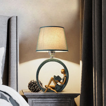 Modern creativity read table lamp simple personality lamp for bedroom light decoration bedside lamp study room desk lamps недорого