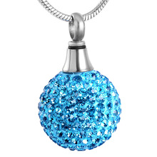 Crystal Ball Urn Necklace
