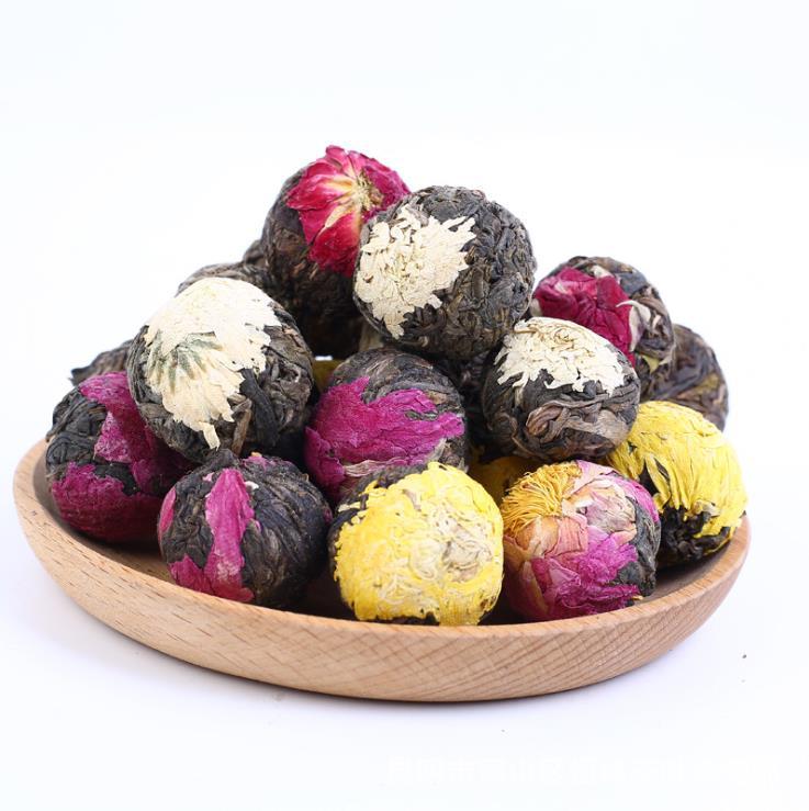 Handmade Blooming Flower Tea Balls 50 gramsHandmade Blooming Flower Tea Balls 50 grams