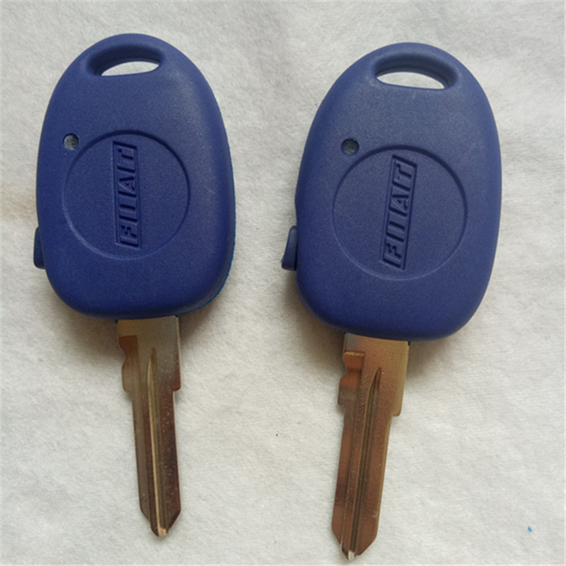 DAKATU เปลี่ยนกุญแจรถด้านข้าง 1 ปุ่มสำหรับ Fiat palio Siena keyless entry fob case GT15R ใบมีด